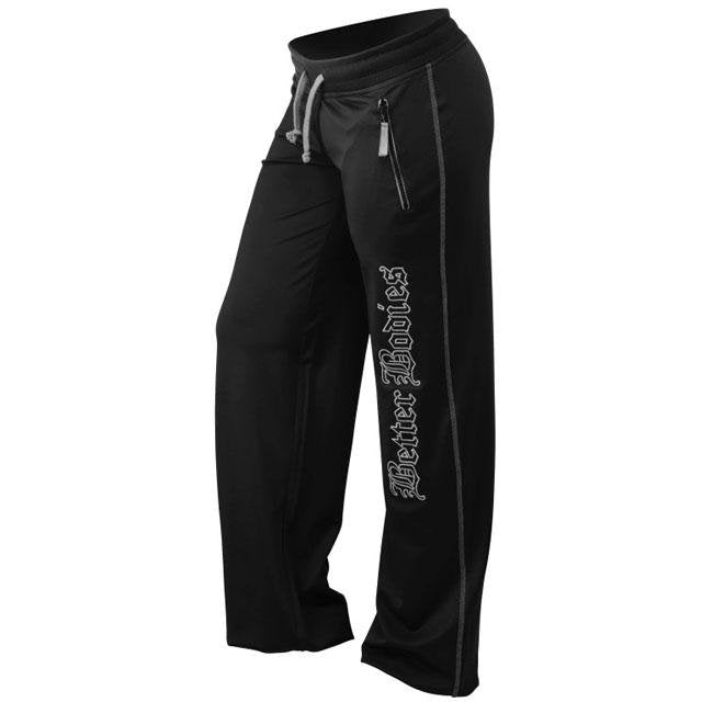 Better Bodies Women's Flex Pant -Black-Grey - Urban Gym Wear