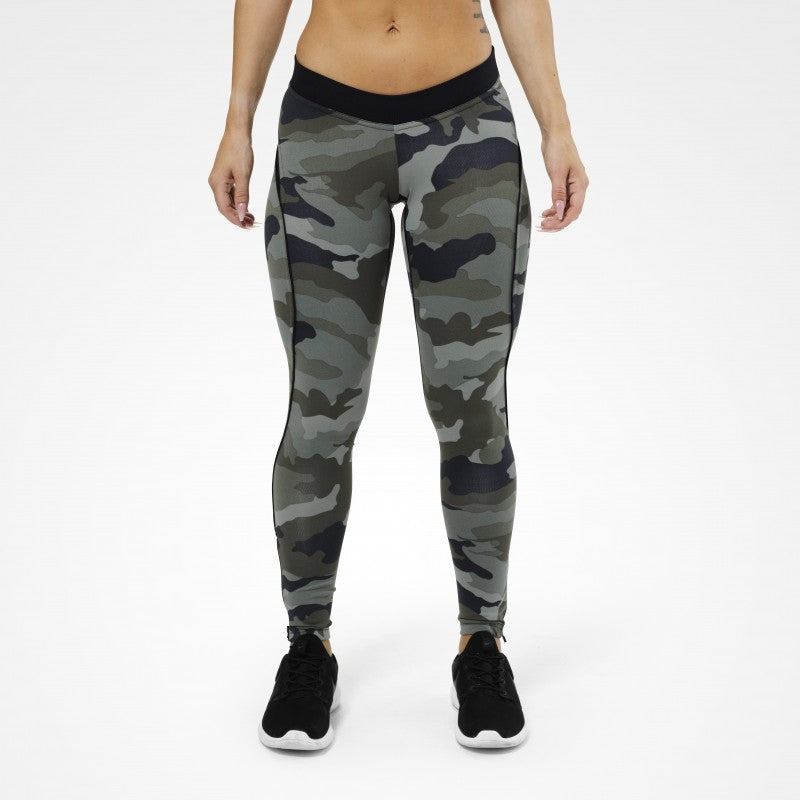 Better Bodies Camo Long Tights - Camoprint