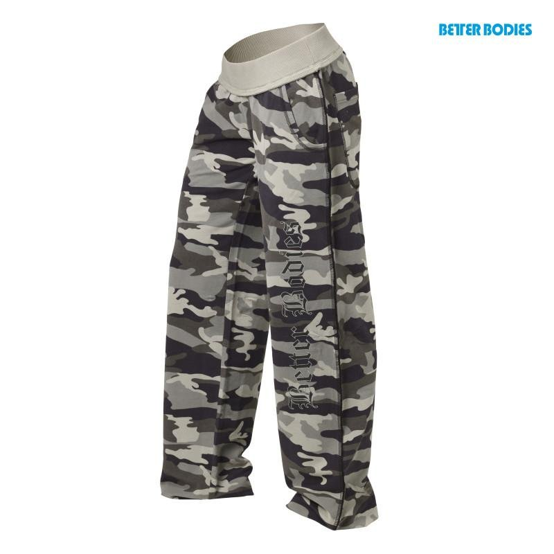Better Bodies Camo Soft Pant - Green Camoprint