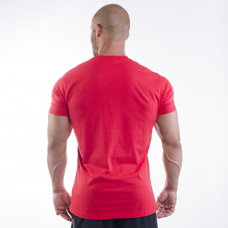 Better Bodies Casual Tee - Bright Red