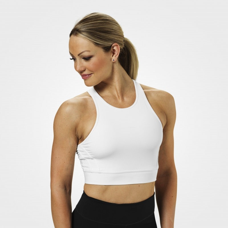 Better Bodies Chelsea Halter - White