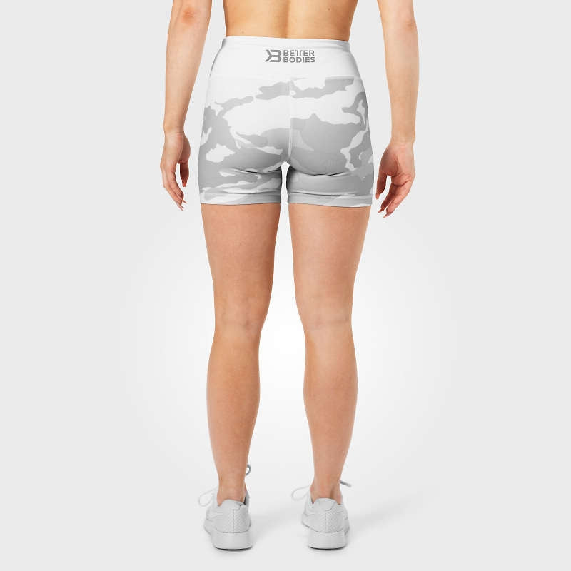 Better Bodies Chelsea Hotpants - White Camo
