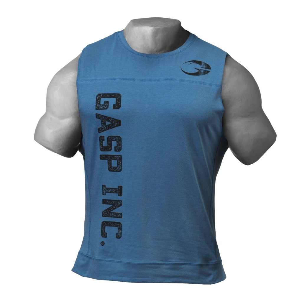 GASP 3045 Tank - Ocean Blue - Urban Gym Wear