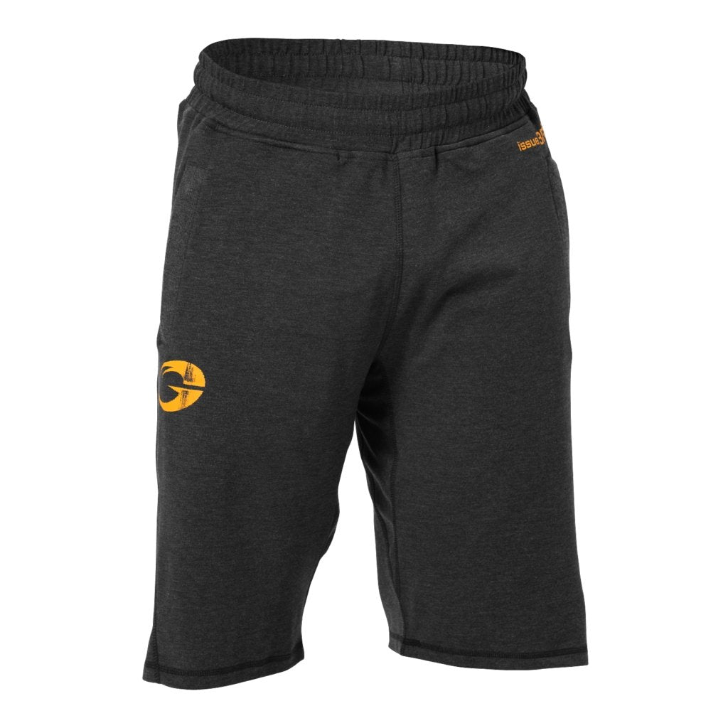 GASP Annex Gym Shorts - Graphite Melange - Urban Gym Wear