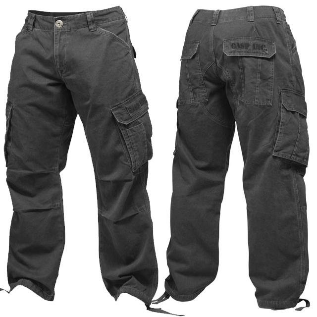 GASP Army Pant - Wash Black - Urban Gym Wear