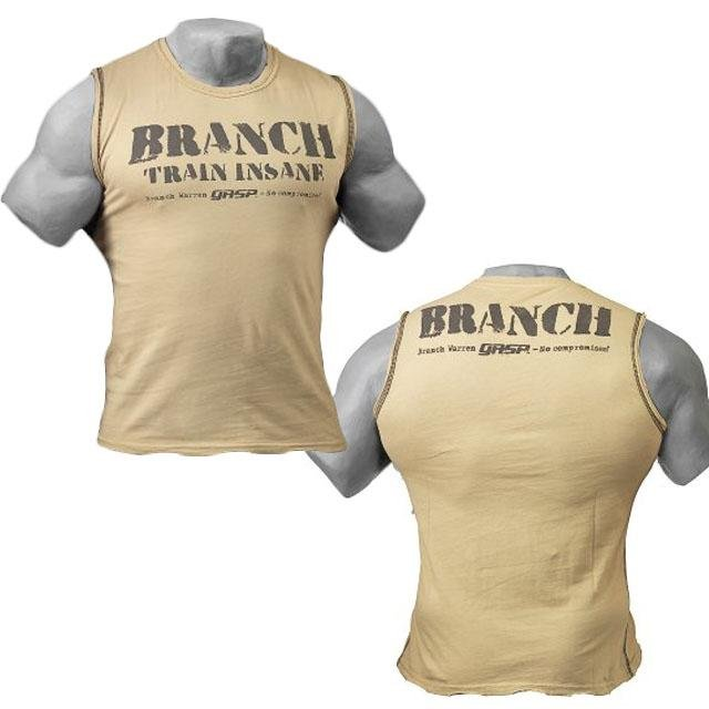 GASP Branch SPP S-L - Desert - Urban Gym Wear
