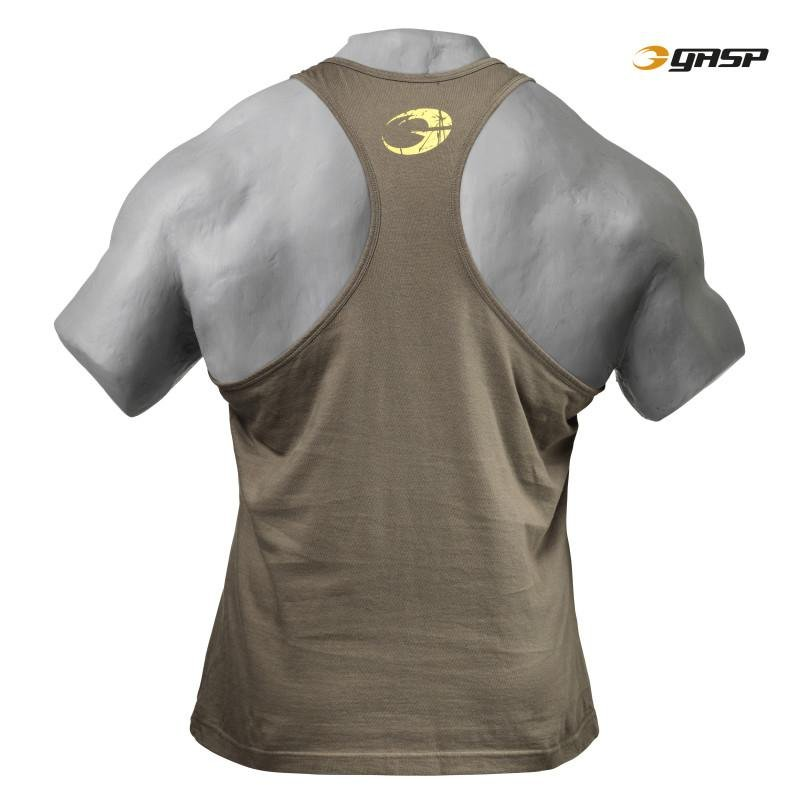 GASP Gym T-Back - Wash Green - Urban Gym Wear
