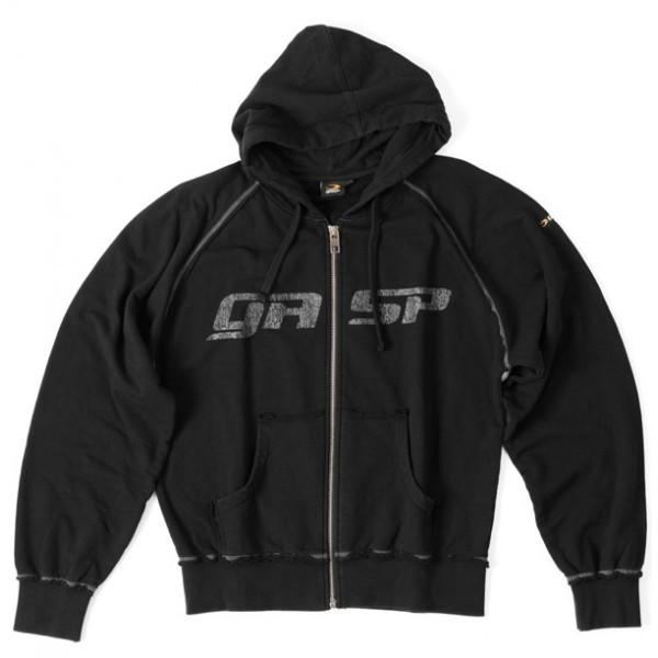 GASP Hooded Jacket - Black - Urban Gym Wear