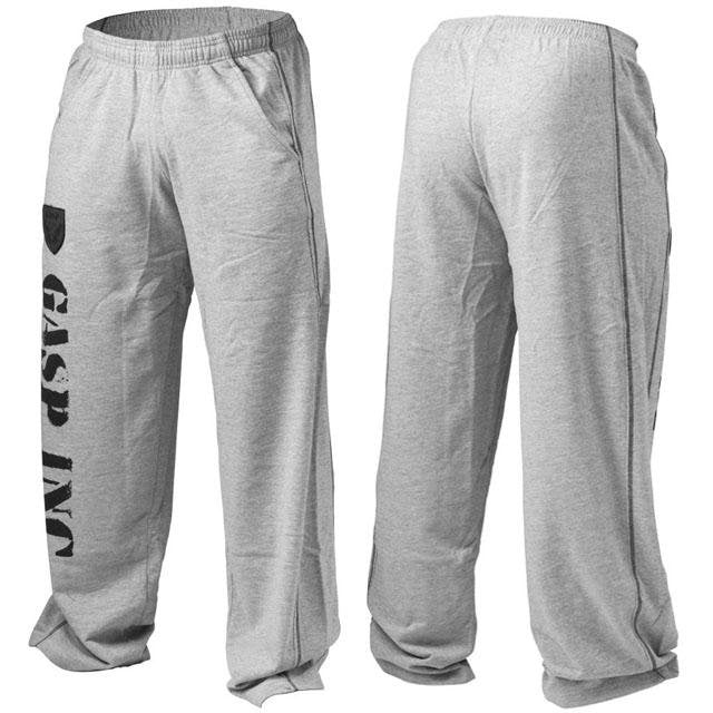 GASP Inc Gym Pant - Greymelange - Urban Gym Wear