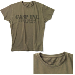 You added <b><u>GASP Item 220548 Tee - Washed Green</u></b> to your cart.