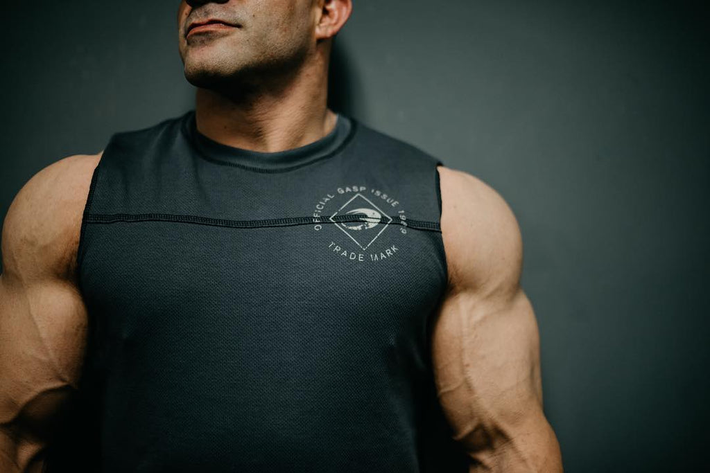 GASP Legacy S-L - Grey - Urban Gym Wear