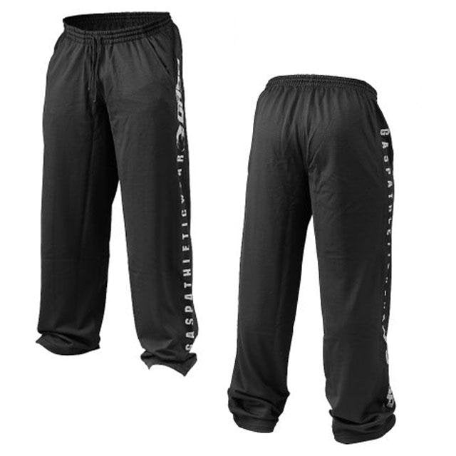 GASP Mesh Training Pants - Black - Urban Gym Wear