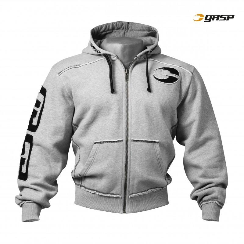 GASP Pro Gym Hood - Greymelange - Urban Gym Wear