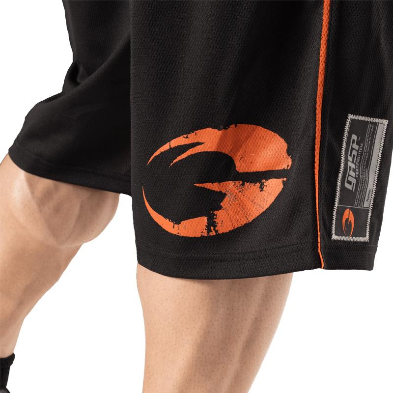 GASP Pro Mesh Shorts - Black - Urban Gym Wear