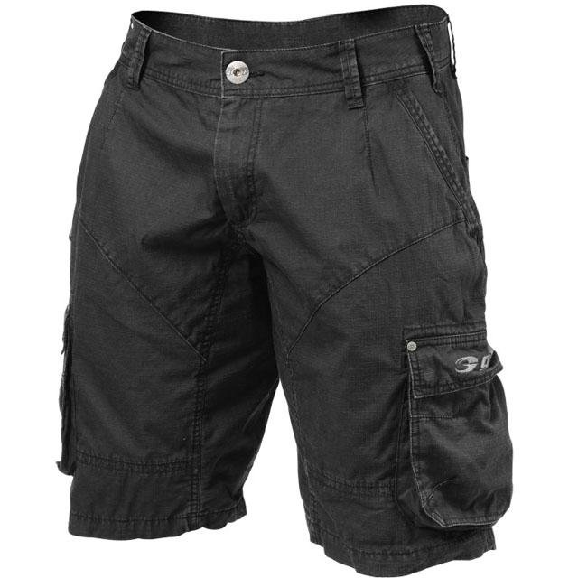 GASP Street Shorts - Wash Black - Urban Gym Wear