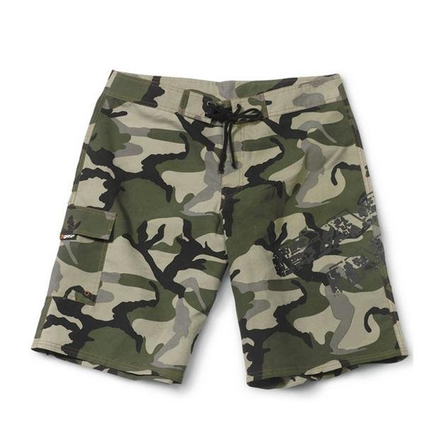 GASP Surf Shorts - Camo Print - Urban Gym Wear