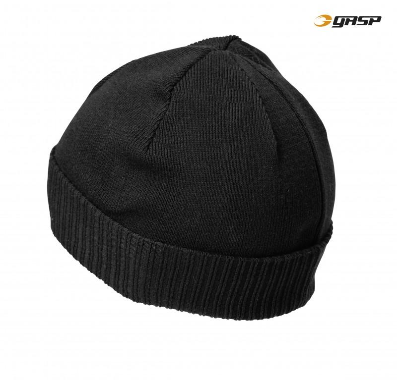 GASP Throwback Beanie - Black - Urban Gym Wear