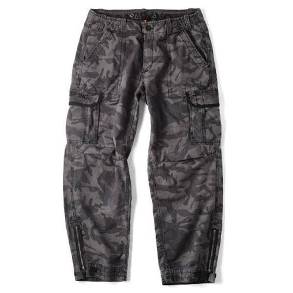 GASP Vintage Pocket Pants - Dark Camo - Urban Gym Wear