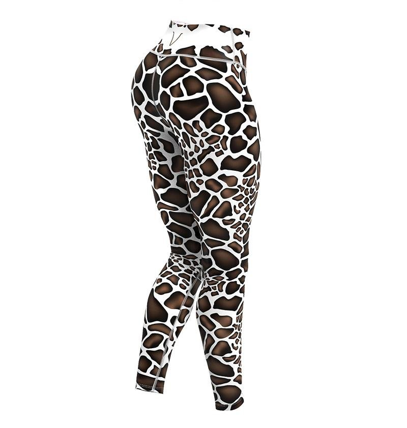 Gavelo Giraffe Leggings - Urban Gym Wear