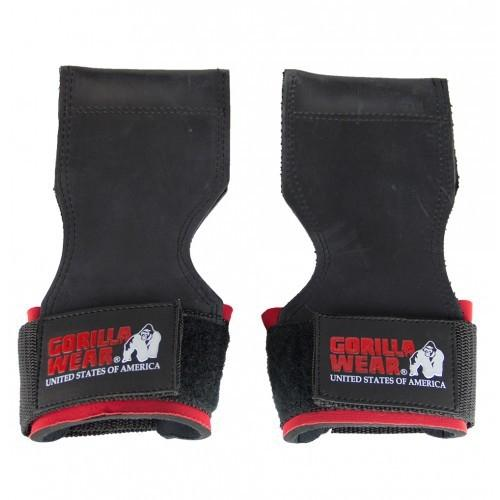 Gorilla Wear Lifting Grips - Black - Urban Gym Wear