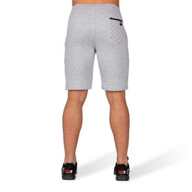 Gorilla Wear Los Angeles Sweat Shorts - Grey - Urban Gym Wear