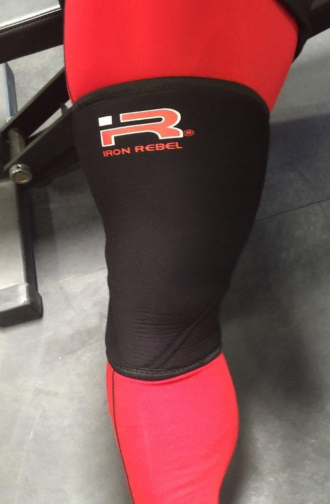 Iron Rebel Sport Knee Sleeve - Single - Urban Gym Wear