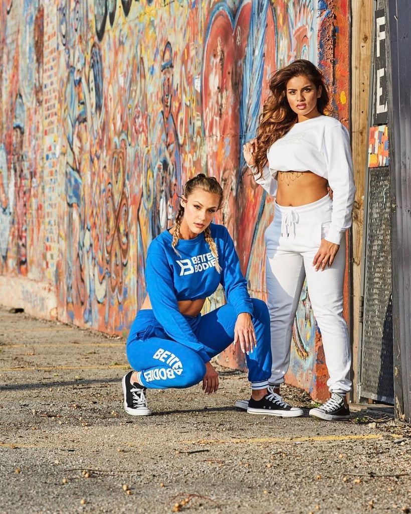 Better Bodies Madison Sweatpants - White