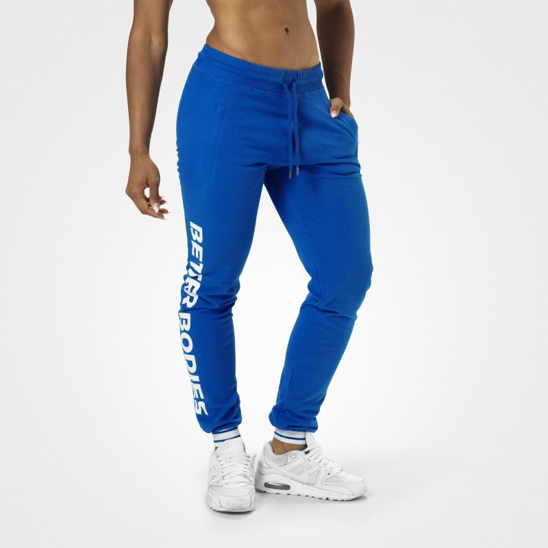 Better Bodies Madison Sweatpants - Strong Blue