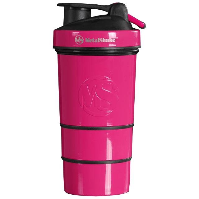 MetalShake 550ml - Pastel Pink - Urban Gym Wear