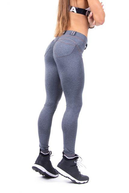 Nebbia Bubble Butt 253 - Grey - Urban Gym Wear