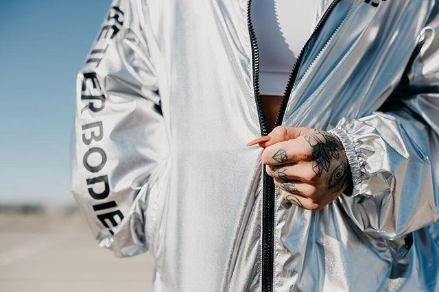 Better Bodies Nolita Jacket - Metallic