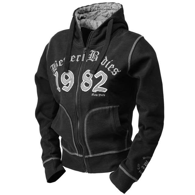 Better Bodies N.Y Hoodie - Black