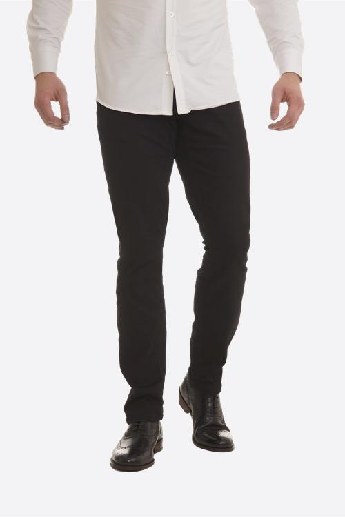Olympvs Athletic Fit Jeans - Jet Black Wash - Urban Gym Wear