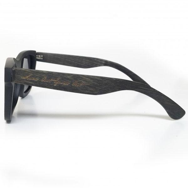 Samson Athletics Full Bamboo Sunglasses - Black - Urban Gym Wear