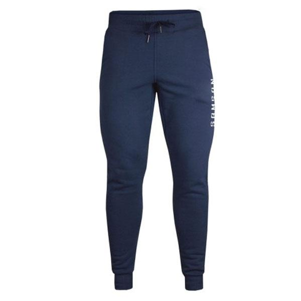 Samson Athletics Mens Tapered Jogging Pants - Navy - Urban Gym Wear
