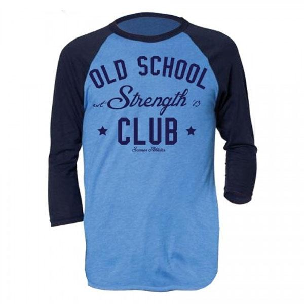 Samson Athletics Old School Strength Club 3-4 Tee - Urban Gym Wear
