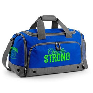 You added <b><u>Samson Athletics Only The Strong Gym Bag - Royal Blue</u></b> to your cart.