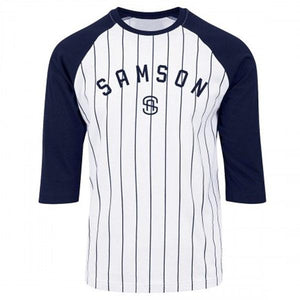 You added <b><u>Samson Athletics Striped Baseball Tee</u></b> to your cart.