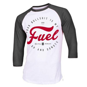 You added <b><u>Samson Athletics Your Bull Is My Fuel 3-4 Baseball Tee</u></b> to your cart.