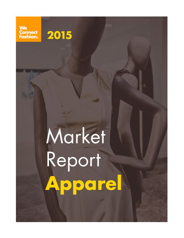 USA Apparel Market Research Report - 2015 edition