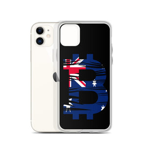 Australian Bitcoin Flag iPhone Case - Your perfect shirt