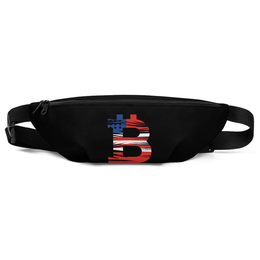 Bitcoin American Flag Fanny Pack - Your perfect shirt
