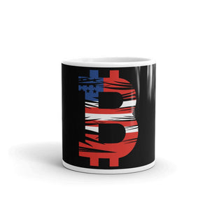 Bitcoin American Flag Mug - Your perfect shirt