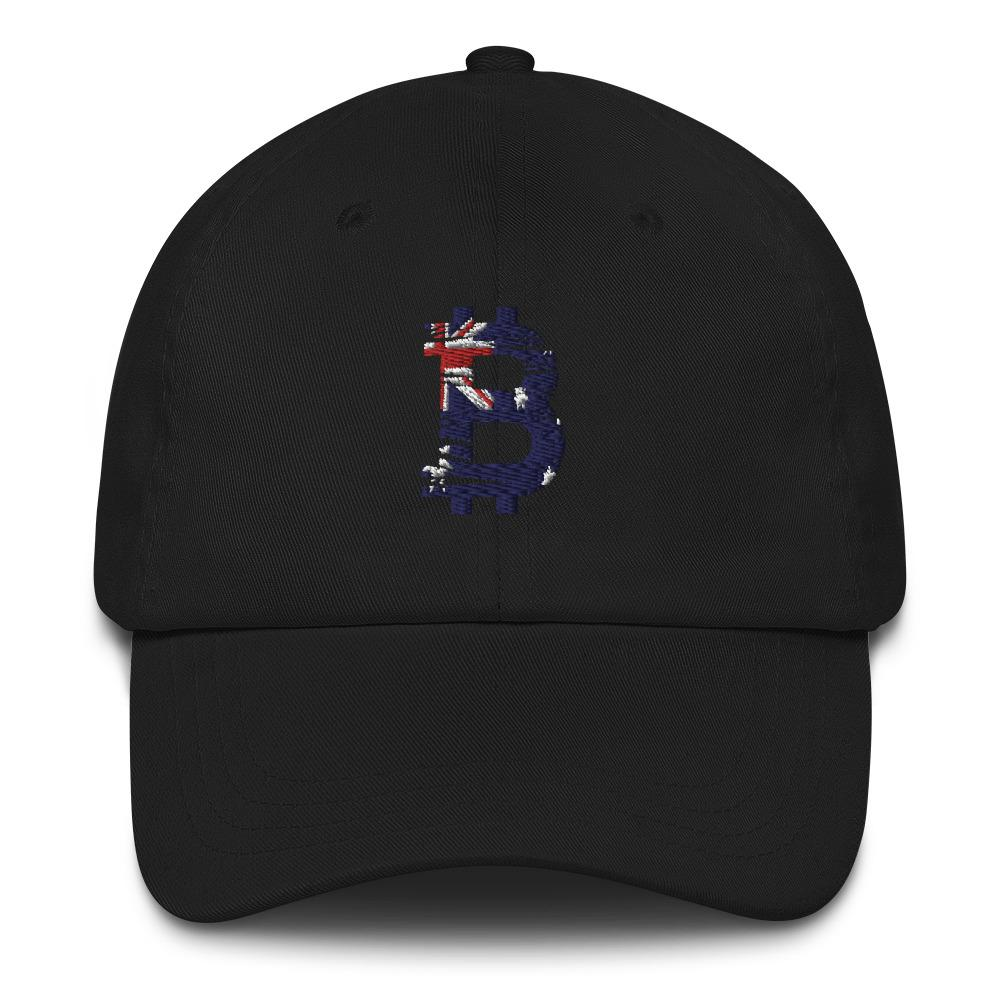 bitcoin Australian flag Dad hat - Your perfect shirt