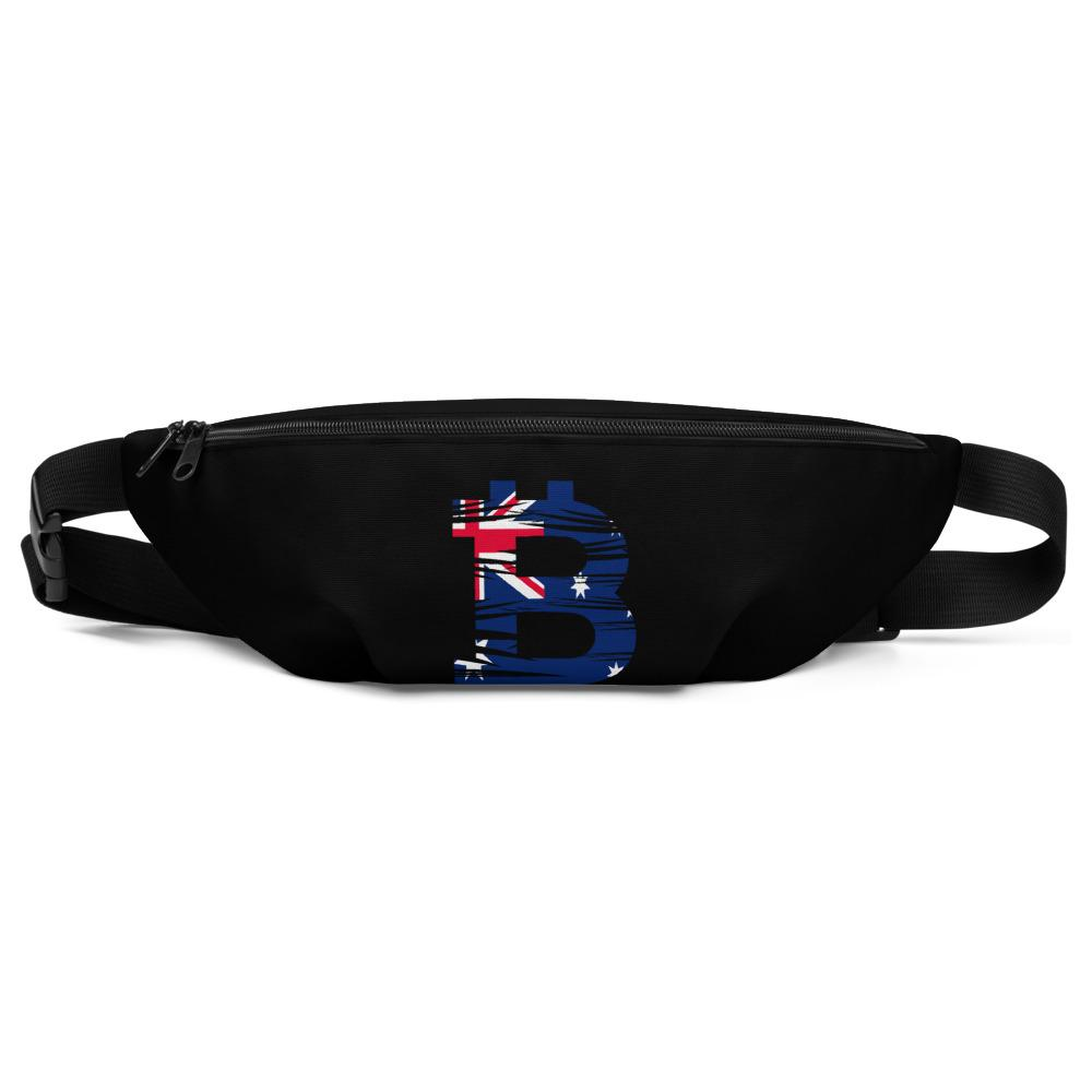 Bitcoin Australian Flag Fanny Pack - Your perfect shirt