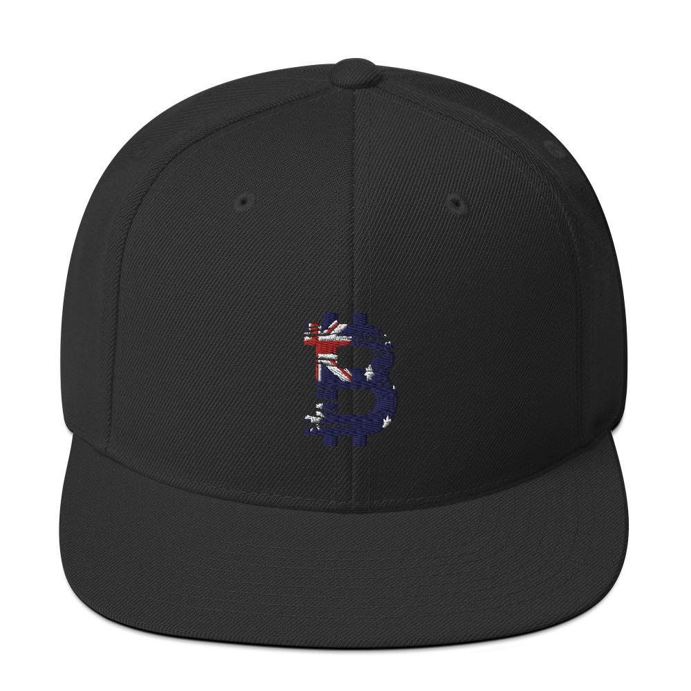 Bitcoin Australian flag Snapback hat - Your perfect shirt