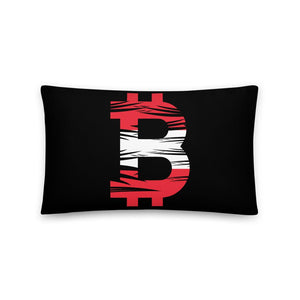 Bitcoin Austrian Flag Basic Pillow - Your perfect shirt