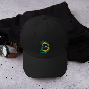 Bitcoin Brazilian flag Dad hat - Your perfect shirt