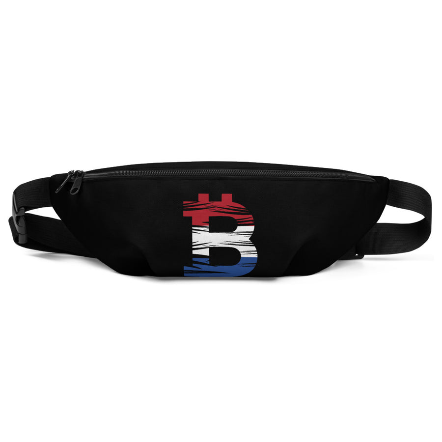 Bitcoin Dutch Flag Fanny Pack