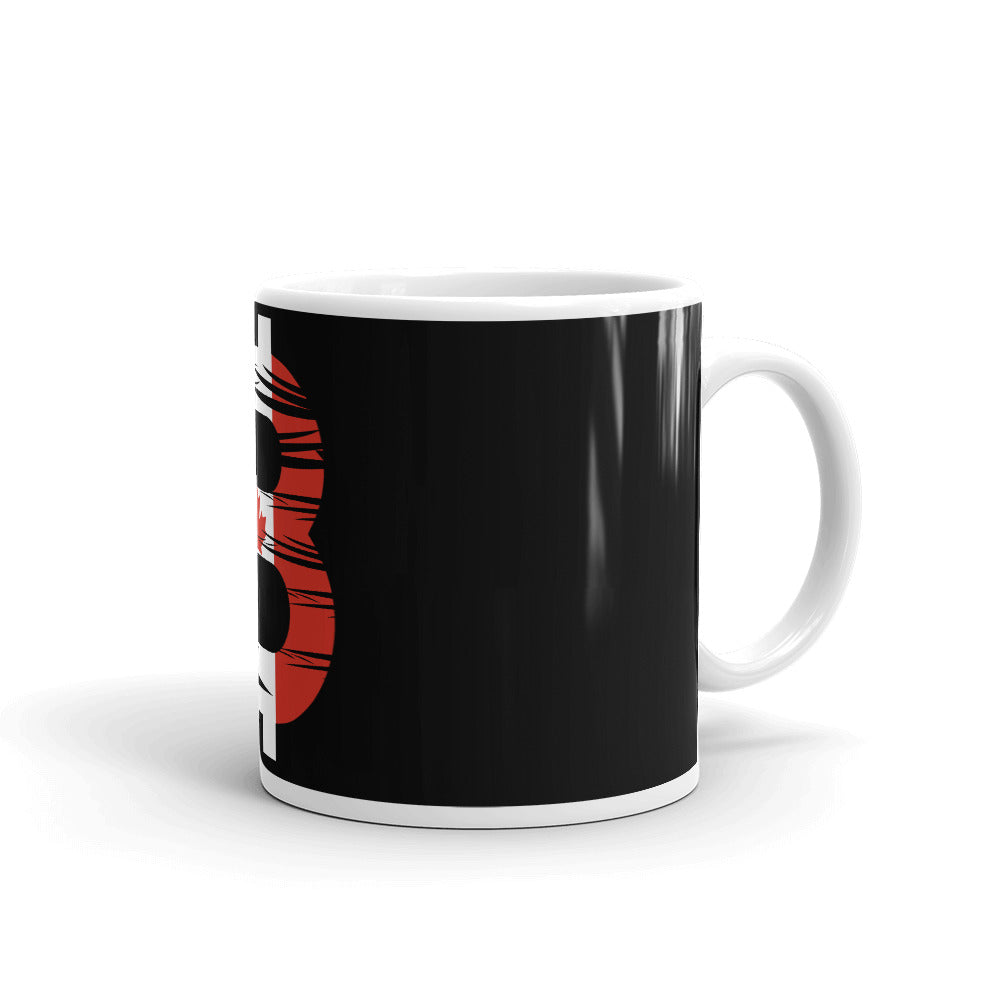 Bitcoin Canadian Flag Mug